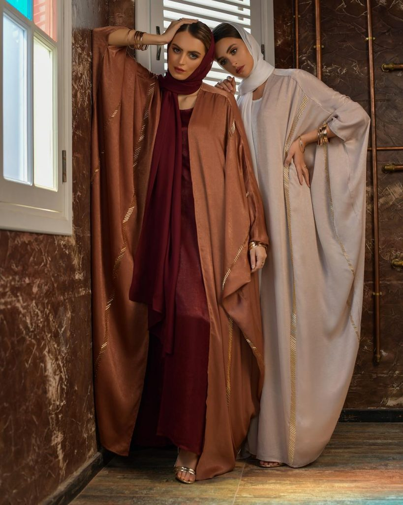 Sadwash Satin Silk Abaya